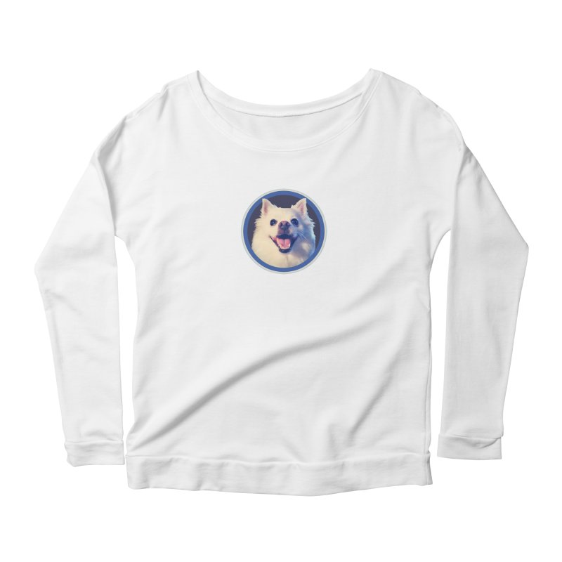 Connie is very happy Women's Scoop Neck Longsleeve T-Shirt by 21 Squirrels Brewery Shop