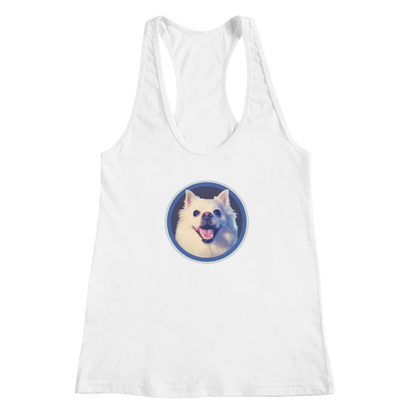 Connie is very happy Women's Racerback Tank by 21 Squirrels Brewery Shop