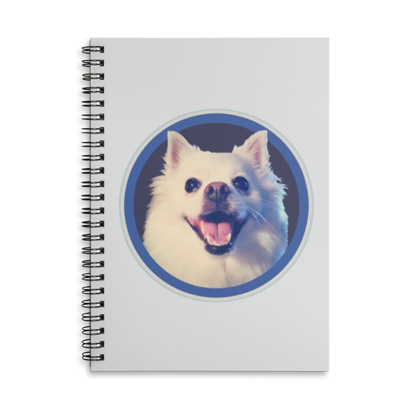 Connie is very happy Accessories Lined Spiral Notebook by 21 Squirrels Brewery Shop