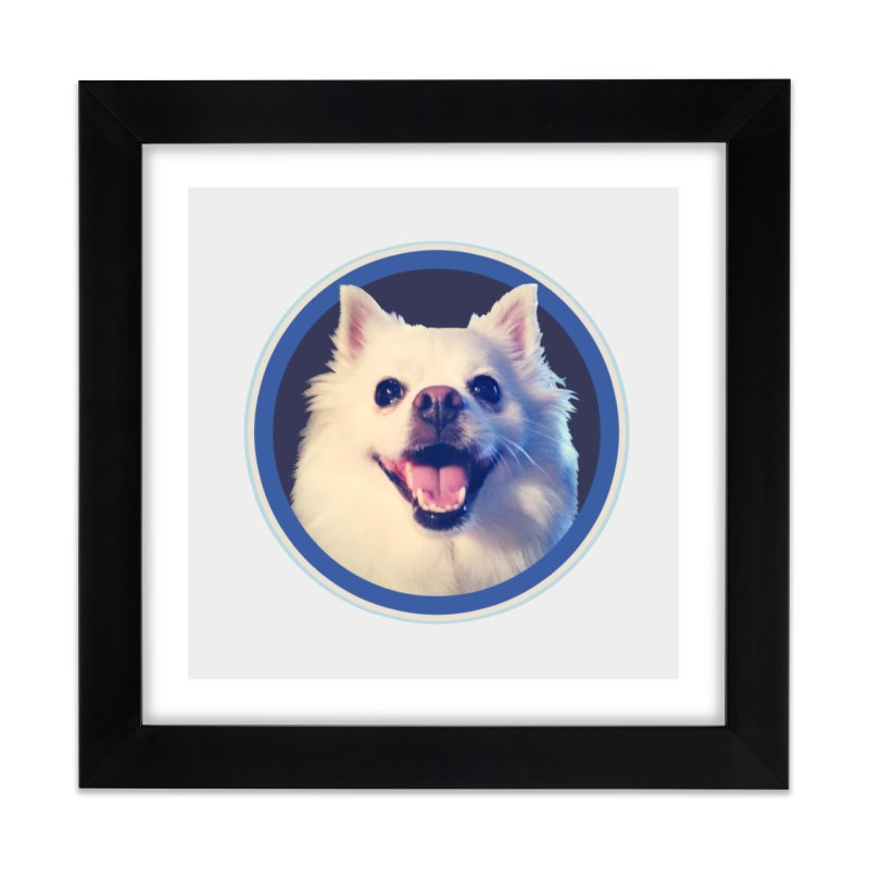 Connie is very happy Home Framed Fine Art Print by 21 Squirrels Brewery Shop