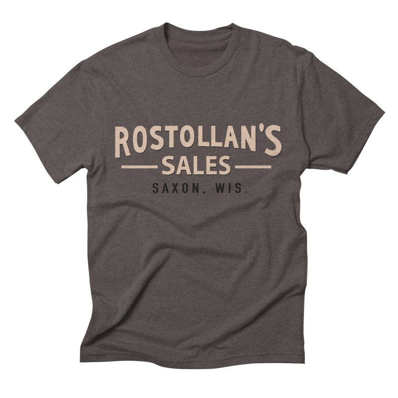 Rostollan's Sales Men's Triblend T-Shirt by 21 Squirrels Brewery Shop