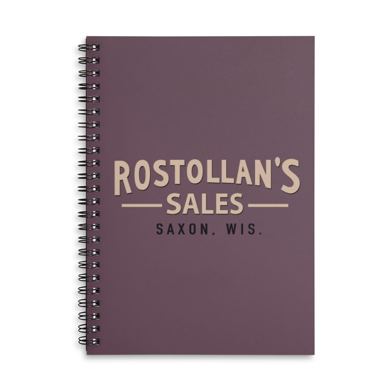 Rostollan's Sales Accessories Lined Spiral Notebook by 21 Squirrels Brewery Shop