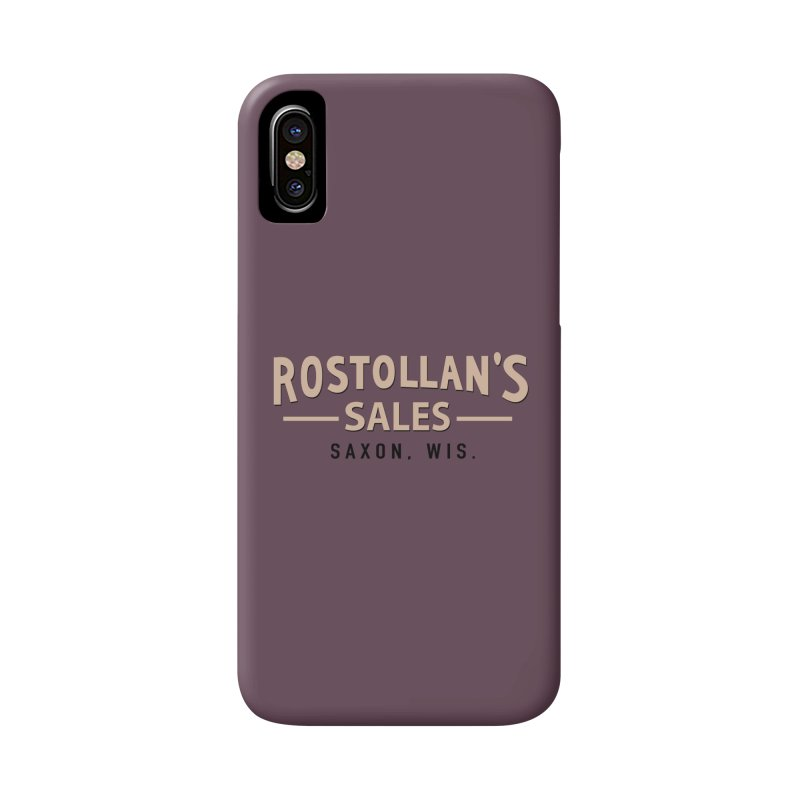 Rostollan's Sales Accessories Phone Case by 21 Squirrels Brewery Shop