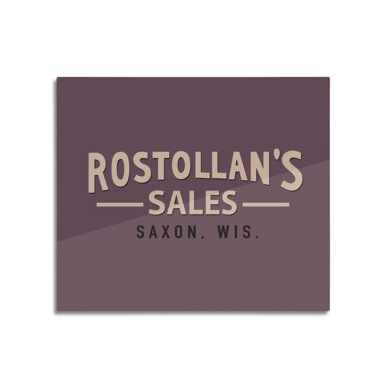 Rostollan's Sales Home Mounted Acrylic Print by 21 Squirrels Brewery Shop