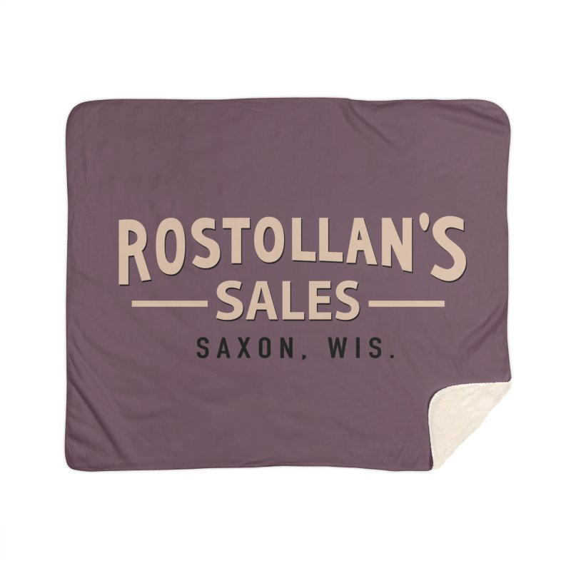 Rostollan's Sales Home Sherpa Blanket Blanket by 21 Squirrels Brewery Shop
