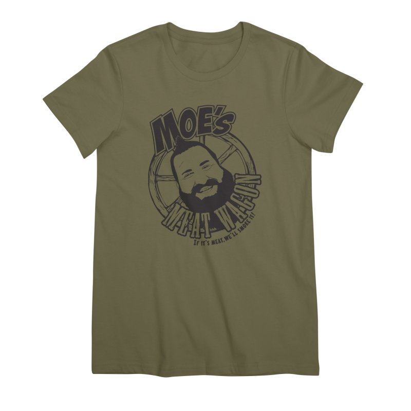 Moe's Meat Wagon Women's Premium T-Shirt by 21 Squirrels Brewery Shop