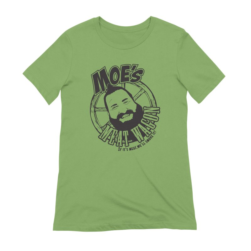 Moe's Meat Wagon Women's Extra Soft T-Shirt by 21 Squirrels Brewery Shop