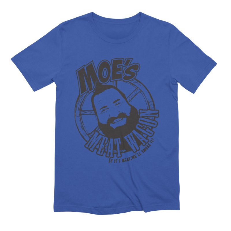Moe's Meat Wagon Men's Extra Soft T-Shirt by 21 Squirrels Brewery Shop