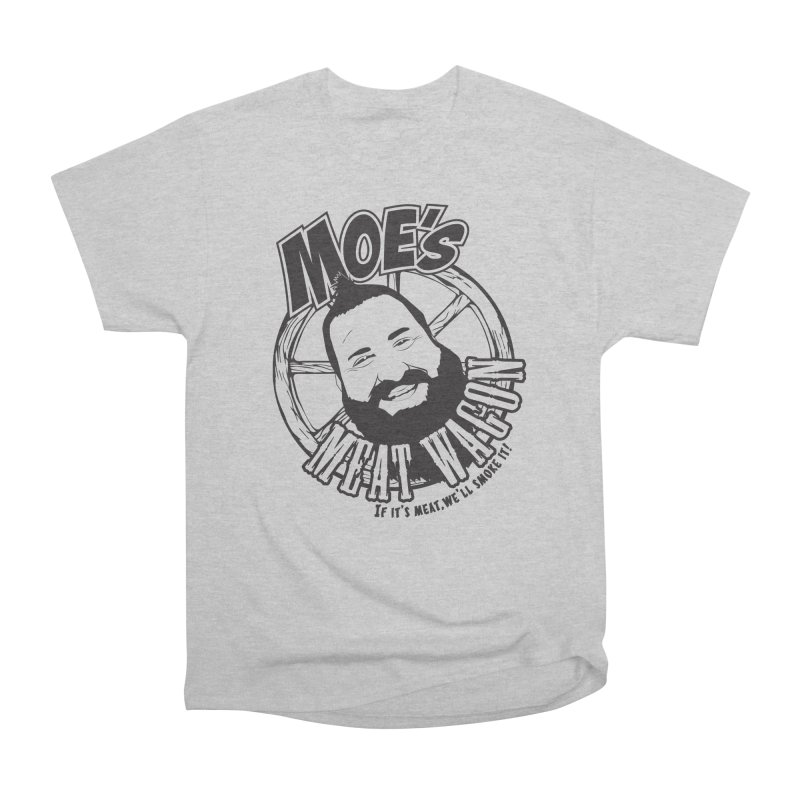 Moe's Meat Wagon Men's Heavyweight T-Shirt by 21 Squirrels Brewery Shop