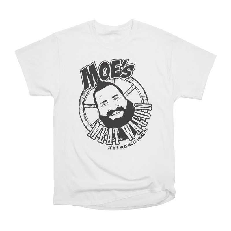 Moe's Meat Wagon Women's Heavyweight Unisex T-Shirt by 21 Squirrels Brewery Shop