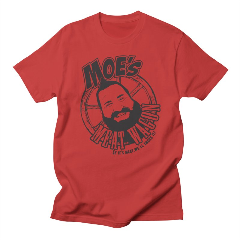 Moe's Meat Wagon Men's Regular T-Shirt by 21 Squirrels Brewery Shop
