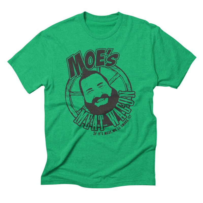 Moe's Meat Wagon Men's Triblend T-Shirt by 21 Squirrels Brewery Shop