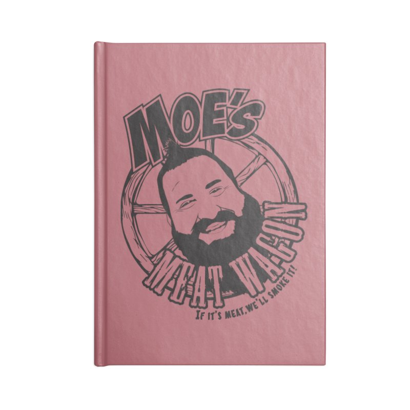 Moe's Meat Wagon Accessories Blank Journal Notebook by 21 Squirrels Brewery Shop