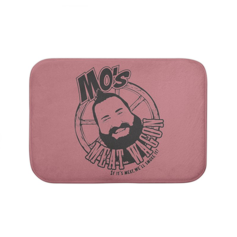 Mo's Meat Wagon Home Bath Mat by 21 Squirrels Brewery Shop