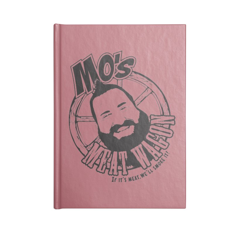Mo's Meat Wagon Accessories Notebook by 21 Squirrels Brewery Shop