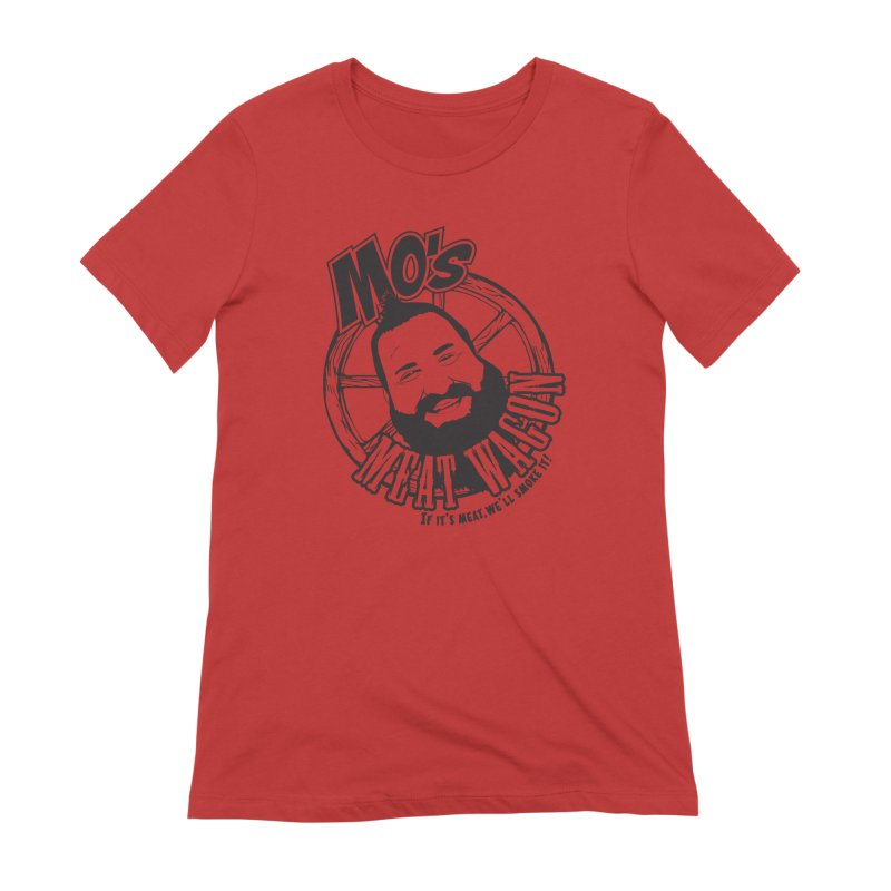 Mo's Meat Wagon Women's Extra Soft T-Shirt by 21 Squirrels Brewery Shop