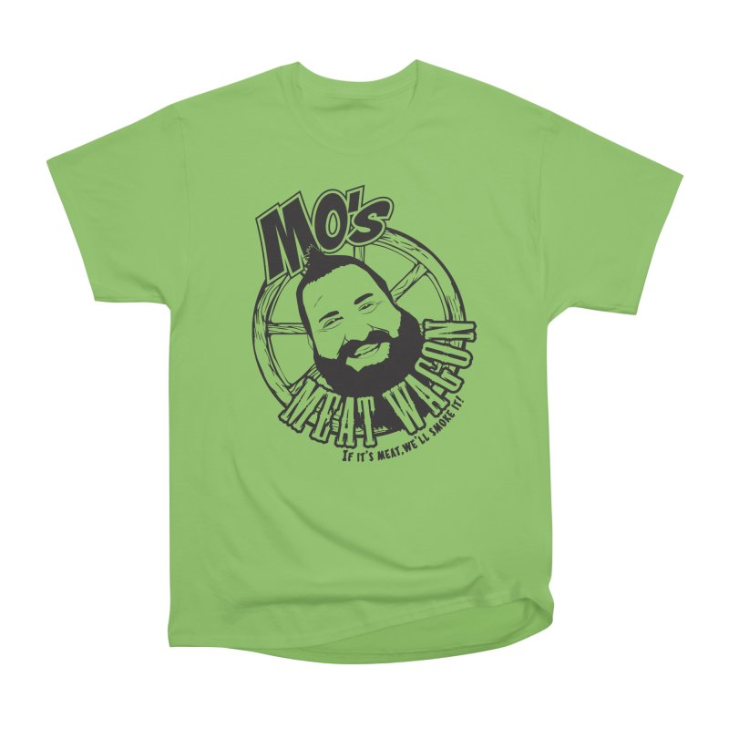 Mo's Meat Wagon Men's Heavyweight T-Shirt by 21 Squirrels Brewery Shop
