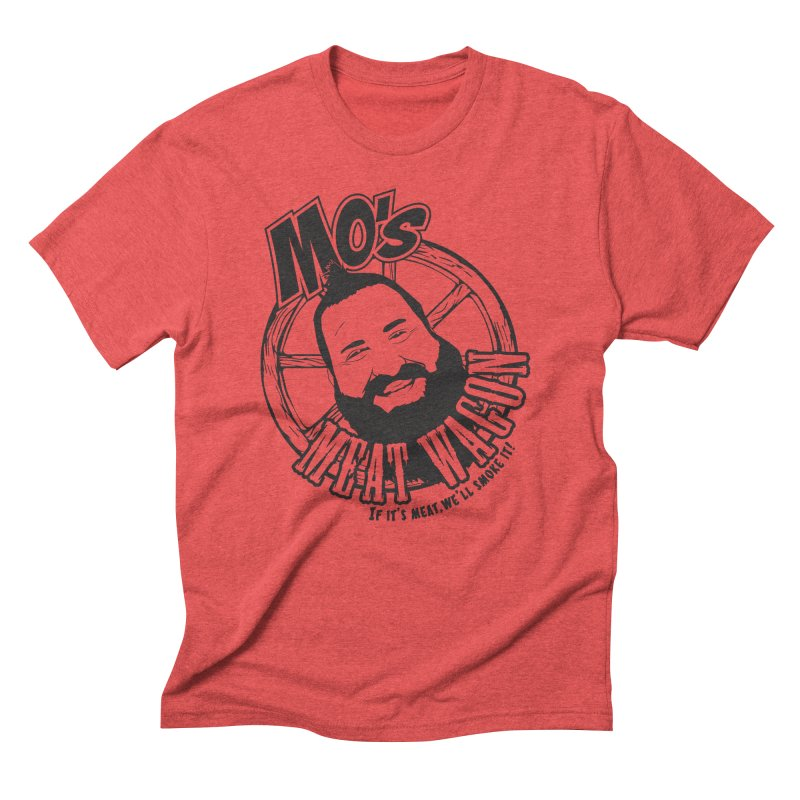 Mo's Meat Wagon Men's Triblend T-Shirt by 21 Squirrels Brewery Shop