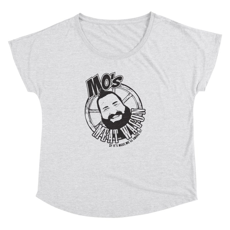 Mo's Meat Wagon Women's Dolman Scoop Neck by 21 Squirrels Brewery Shop