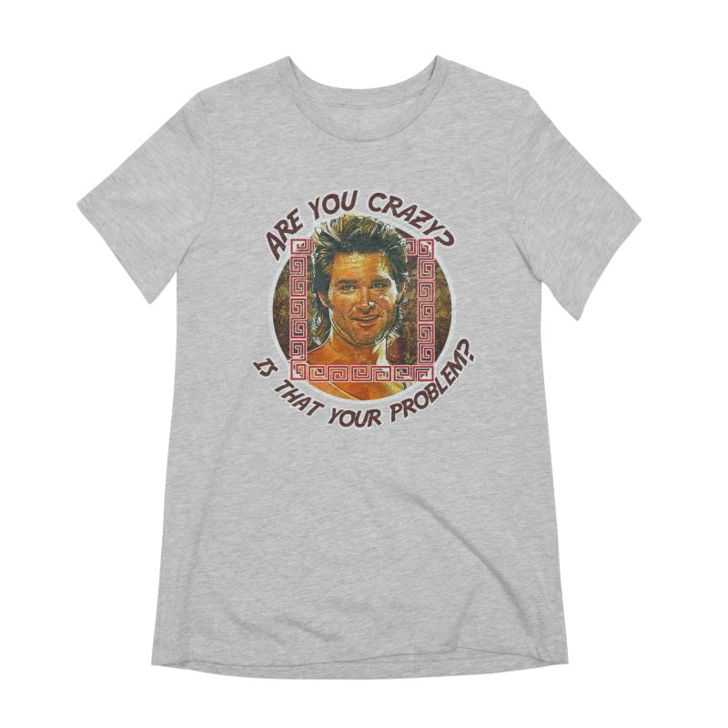 Are you crazy? Is that your problem? Women's Extra Soft T-Shirt by 21 Squirrels Brewery Shop