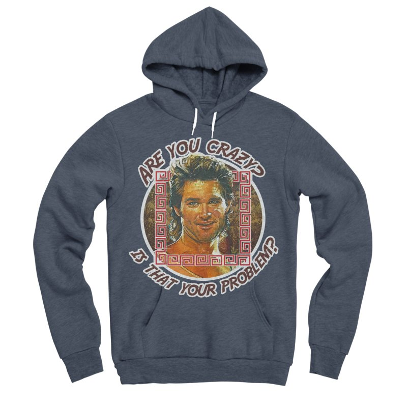 Are you crazy? Is that your problem? Women's Sponge Fleece Pullover Hoody by 21 Squirrels Brewery Shop