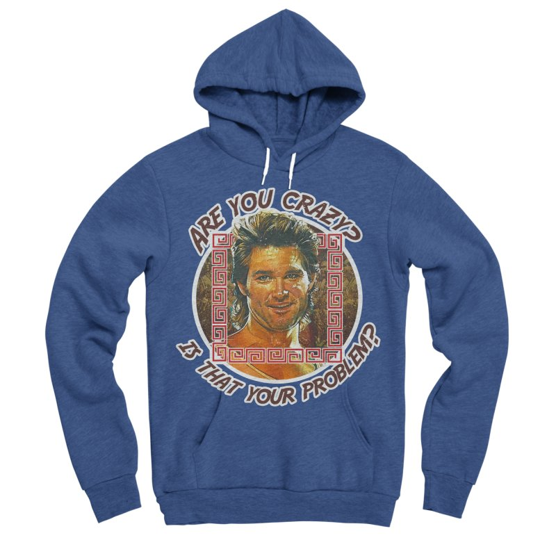 Are you crazy? Is that your problem? Men's Sponge Fleece Pullover Hoody by 21 Squirrels Brewery Shop