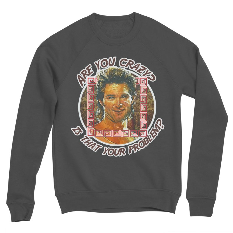 Are you crazy? Is that your problem? Men's Sweatshirt by 21 Squirrels Brewery Shop