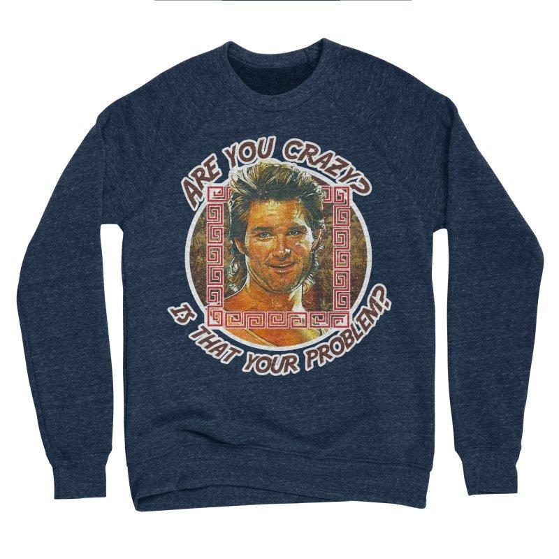 Are you crazy? Is that your problem? Men's Sponge Fleece Sweatshirt by 21 Squirrels Brewery Shop