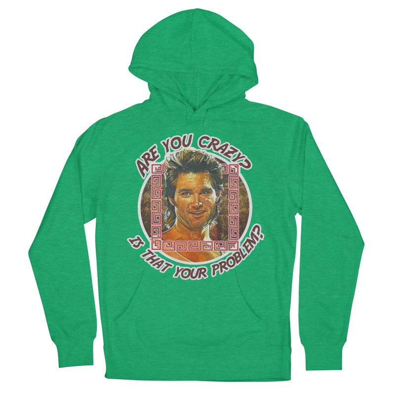Are you crazy? Is that your problem? Women's French Terry Pullover Hoody by 21 Squirrels Brewery Shop