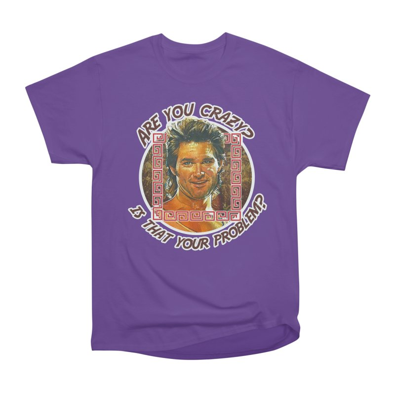 Are you crazy? Is that your problem? Women's Heavyweight Unisex T-Shirt by 21 Squirrels Brewery Shop