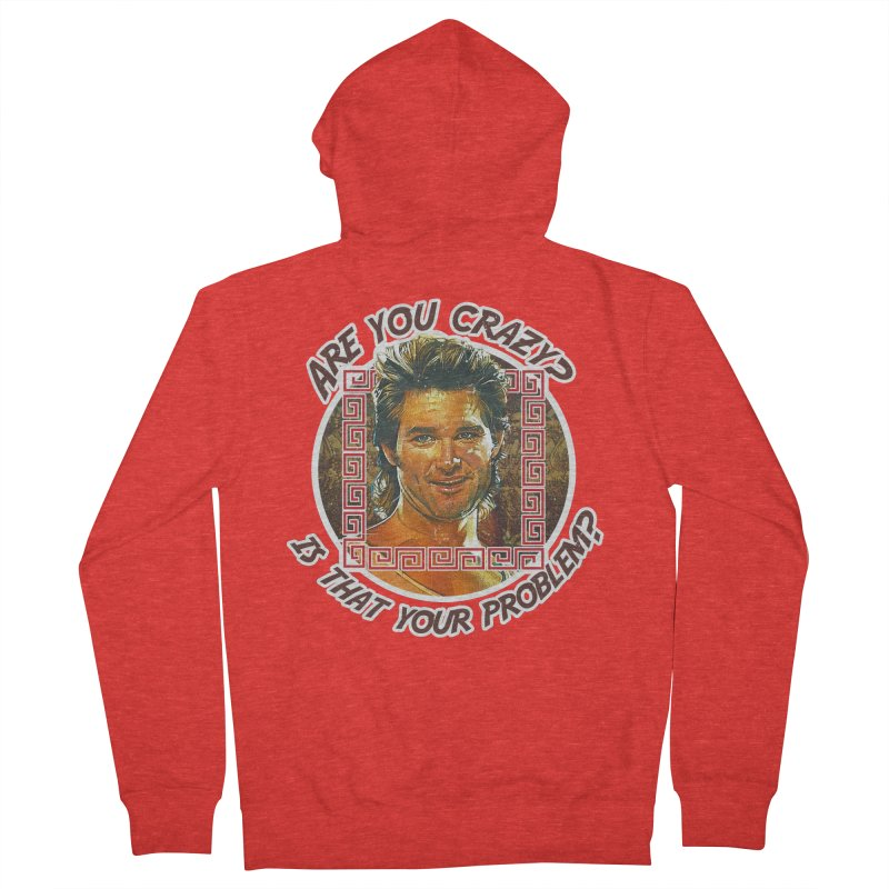 Are you crazy? Is that your problem? Women's Zip-Up Hoody by 21 Squirrels Brewery Shop