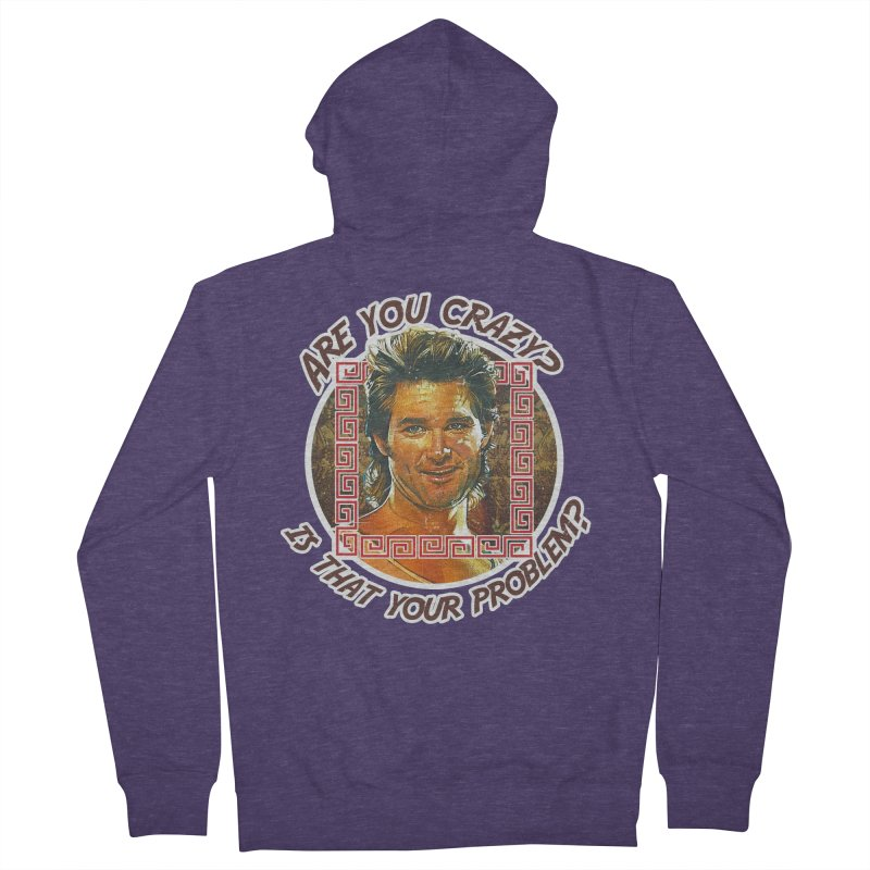 Are you crazy? Is that your problem? Men's French Terry Zip-Up Hoody by 21 Squirrels Brewery Shop