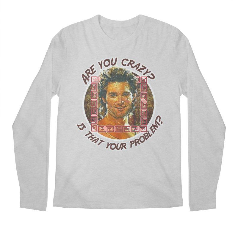 Are you crazy? Is that your problem? Men's Regular Longsleeve T-Shirt by 21 Squirrels Brewery Shop