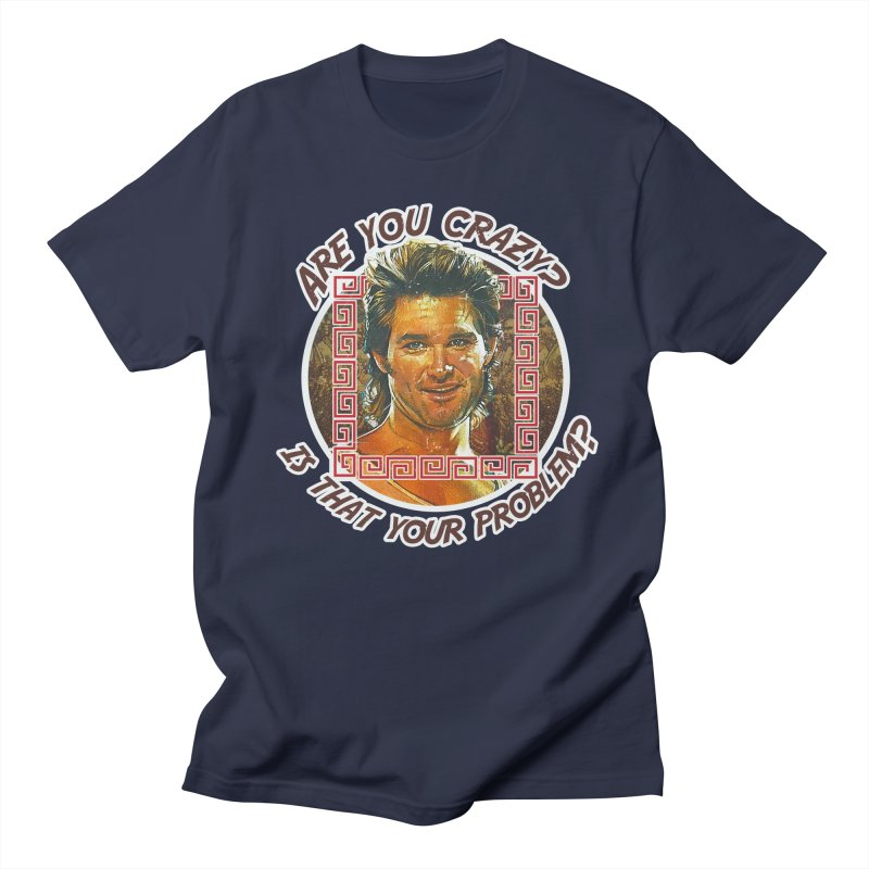 Are you crazy? Is that your problem? Women's Regular Unisex T-Shirt by 21 Squirrels Brewery Shop