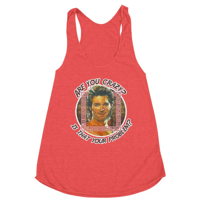 Are you crazy? Is that your problem? Women's Racerback Triblend Tank by 21 Squirrels Brewery Shop