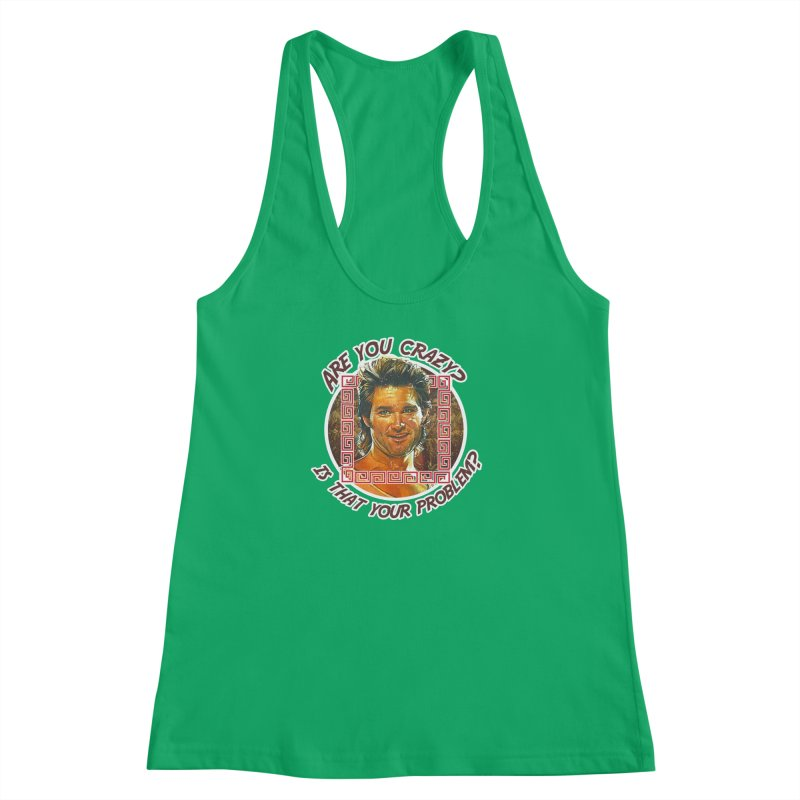 Are you crazy? Is that your problem? Women's Racerback Tank by 21 Squirrels Brewery Shop