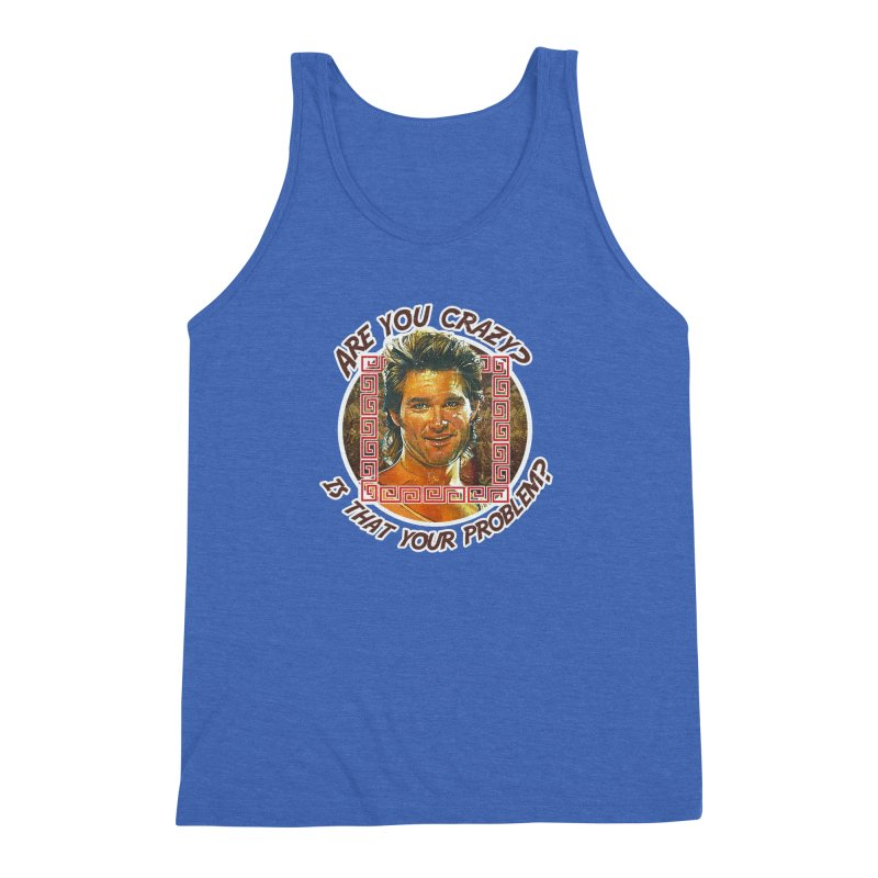 Are you crazy? Is that your problem? Men's Triblend Tank by 21 Squirrels Brewery Shop