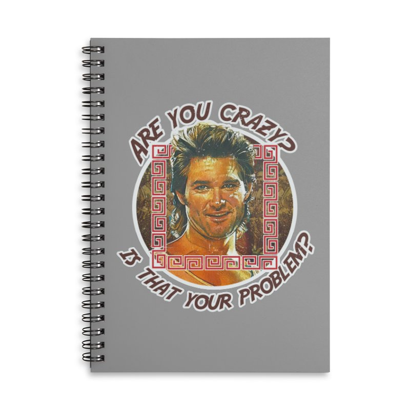 Are you crazy? Is that your problem? Accessories Lined Spiral Notebook by 21 Squirrels Brewery Shop