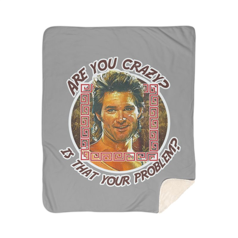 Are you crazy? Is that your problem? Home Sherpa Blanket Blanket by 21 Squirrels Brewery Shop