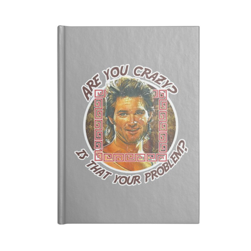 Are you crazy? Is that your problem? Accessories Lined Journal Notebook by 21 Squirrels Brewery Shop