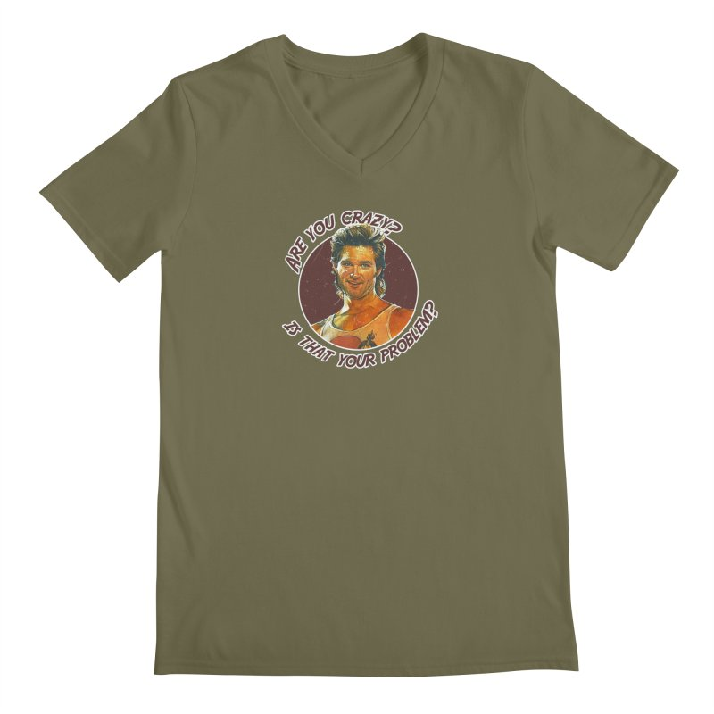 Are you crazy? Is that your problem? Men's Regular V-Neck by 21 Squirrels Brewery Shop