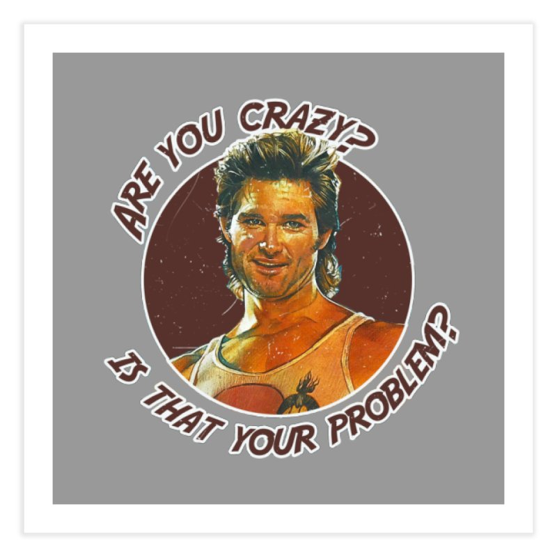 Are you crazy? Is that your problem? Home Bath Mat by 21 Squirrels Brewery Shop