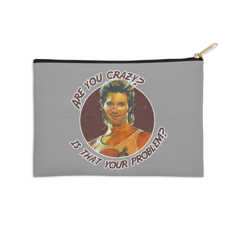 Are you crazy? Is that your problem? Accessories Zip Pouch by 21 Squirrels Brewery Shop