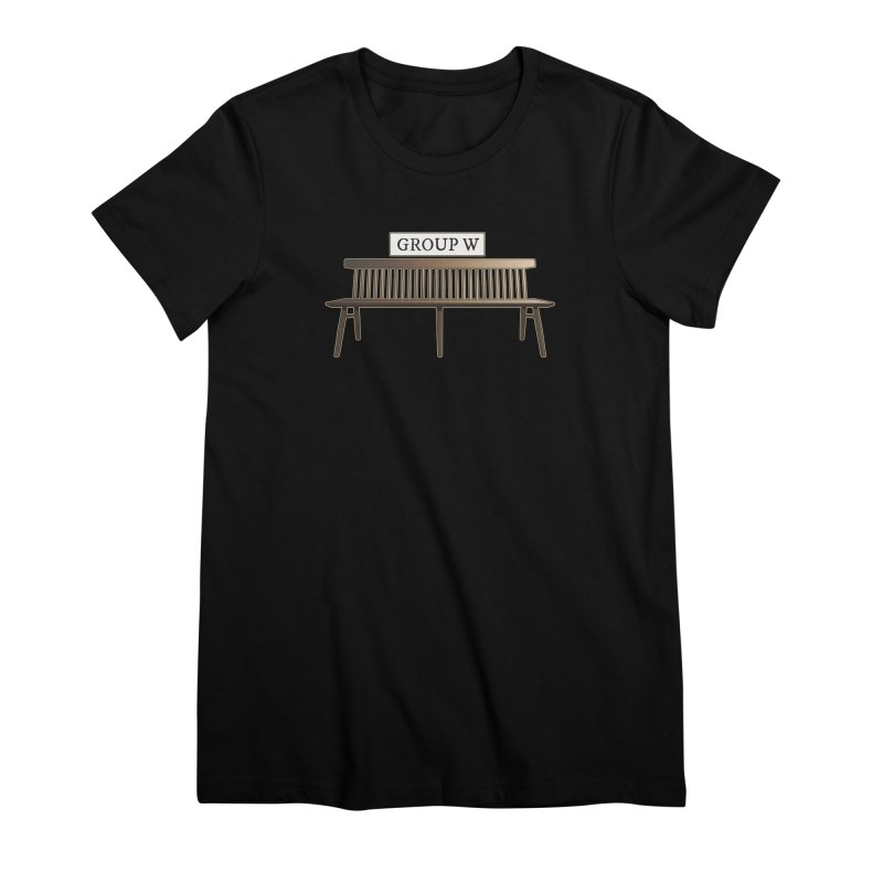 Group W Bench Women's Premium T-Shirt by 21 Squirrels Brewery Shop