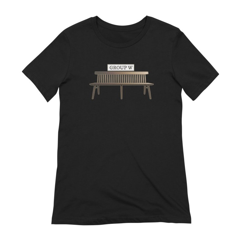 Group W Bench Women's Extra Soft T-Shirt by 21 Squirrels Brewery Shop