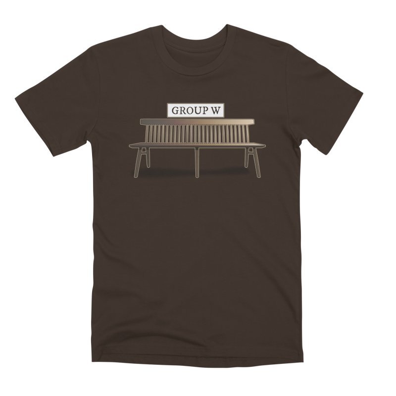 Group W Bench Men's Premium T-Shirt by 21 Squirrels Brewery Shop