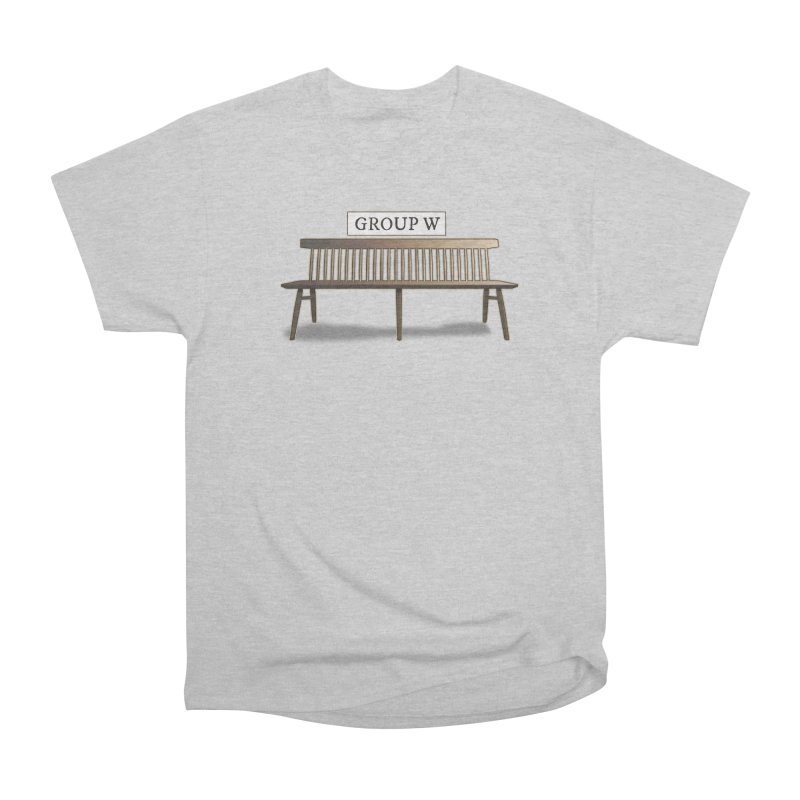 Group W Bench Women's Heavyweight Unisex T-Shirt by 21 Squirrels Brewery Shop