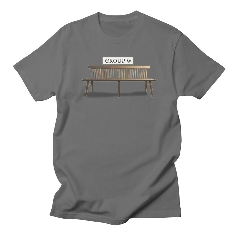 Group W Bench Men's T-Shirt by 21 Squirrels Brewery Shop