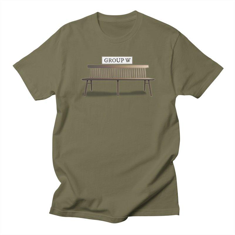 Group W Bench Women's Regular Unisex T-Shirt by 21 Squirrels Brewery Shop