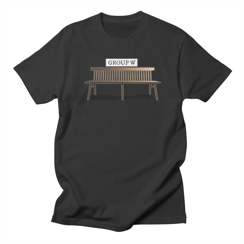 Group W Bench Women's Regular Unisex T-Shirt by 21 Squirrels Brewery Shop